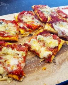 Puree maken van verse tomaten