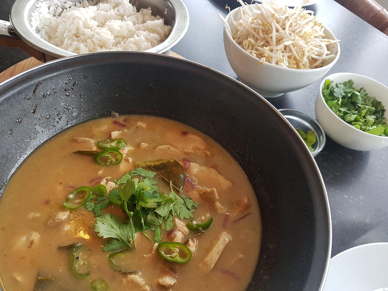 groene curry kip kokos thais