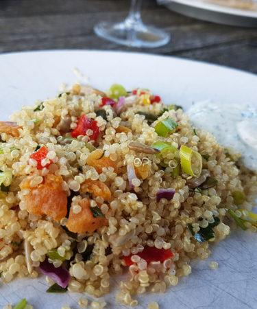 quinoa salade vegan