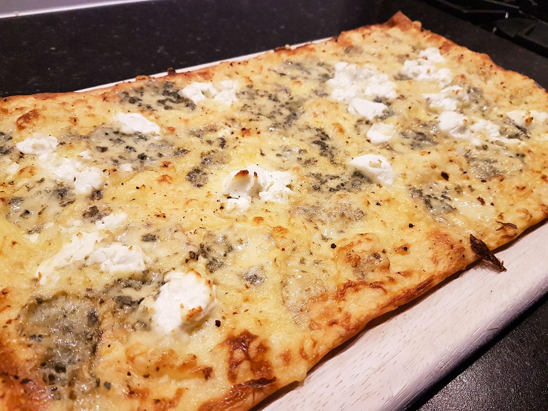 flammkuchen four cheese