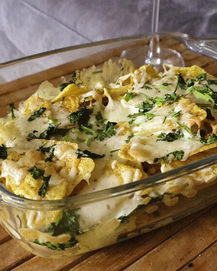 nacho's met kaas uit de oven